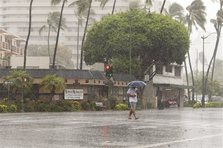 Hawaii largely dodges one-two storm punch